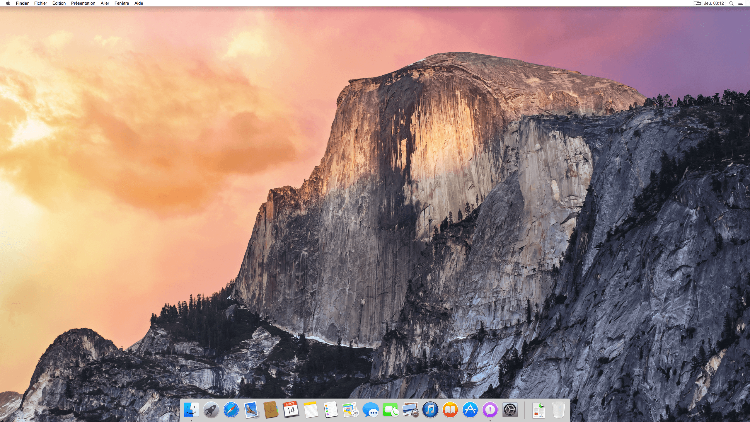 yosemite machine