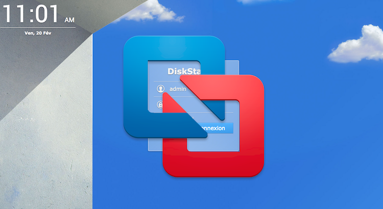 DSM Synology sur VMware Fusion