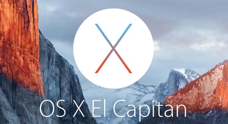 OS X 10.11 El Capitan sur VMware