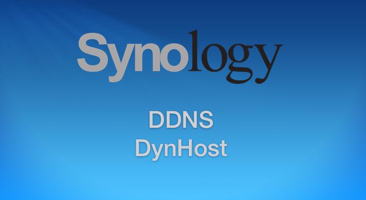 Ajouter n'importe quel DynHost à un NAS Synology