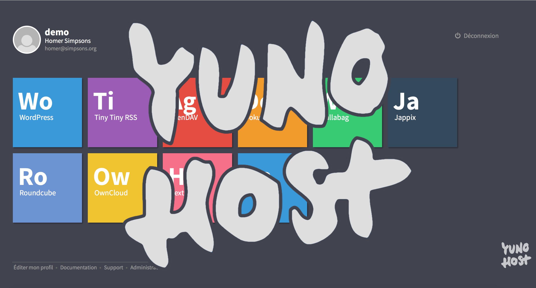 L'auto hébergement facile avec YunoHost