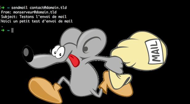 Sendmail avec un serveur SMTP externe et Postfix