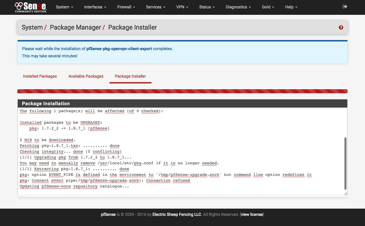 pfSense 2 3 : Configurer un serveur OpenVPN - Adrien Furet