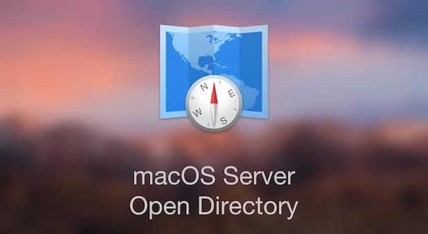 macOS Server : Service Open Directory
