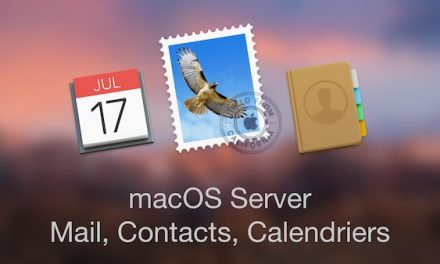 macOS Server : Services Mail, Contacts, Calendriers