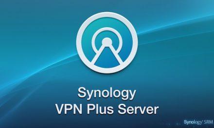 Synology : VPN Plus Server