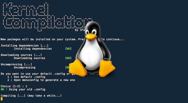Debian : Compilation automatique de Kernel