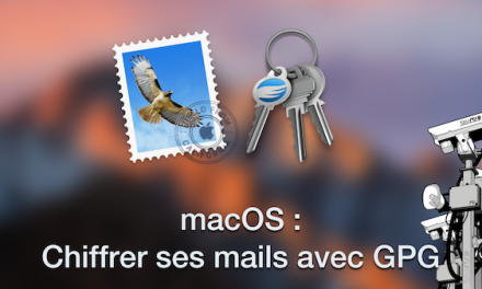 macOS : Chiffrer ses mails avec GPG